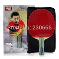 Free Shipping Original DHS5002 Table Tennis Racket Long Handle Or Short Handle PingPong Rackets New Table Tennis Bat 2014