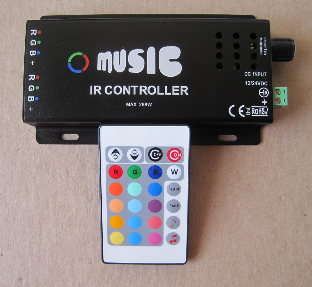 RGB контролер OEM RGB RGB MUISC120W rgb контролер tendtronic 110v 220v multi 8 ad 2003