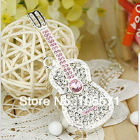 Super Promotion! Necklace Pen Drive Guitar USB Flash Drive 64GB 32GB 16GB memory stick thumb drive