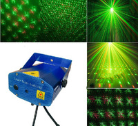 Red & Green Mini Stage Sound/Auto Controled Party Stroboflash Holographic Lighting Ktv Bar DJ Disco Laser Projector Stroboscopic