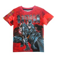 Baby boy clothing short sleeve 2014 fashion hot sale printing batman  cotton t shirts