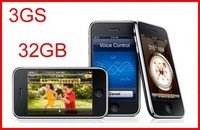 Hot sale 1 Year warranty Unlocked original 3GS 32GB mobile phone GPS 3.15 Mp With sealed packing