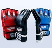 Free shipping, high quality gel fingers, boxing gloves, mma gloves