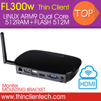 Cloud Computing Linux thin client pc station FL300W cloud terminal RDP Protocol,HD Video,Muti-media Zero Client