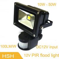 wholesale waterproof 10W 20W 30W 50W outdoor led flood light solar flood light 12V led outdoor lighting lamp free shipping