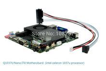 intel celeron 1.8g dual core motherboard,micro itx motherboard,Good quality itx motherboard.Q1037U(China (Mainland))