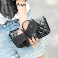 2014 Hot sale popular fashion spring and summer Women's handbag banquet bow clutch women's handbag  evening coin purse   z345