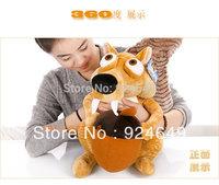 Free shipping plush toy doll dolls squirrel Scott glacial era interactive children's gifts