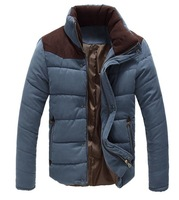 Men's Winter Warm Thermal Wadded Jacket Cotton-padded coat Winter Slim