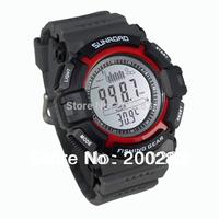 Multi-function Digital Fishing Barometer Waterproof Wrist Watch Thermometer Altimeter Barometer Wrist Watch FR712A