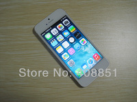 "I5S MTK6572 MTK6577 Phone 4.0""  3G IPS screen Fully 1:1 with original Box,GPS 8MP 5s phone 1:1 as original Size built-in 16G 32G"