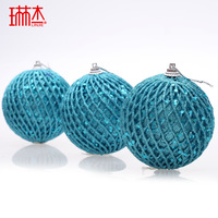 New Year Christmas tree decorating supplies 5cm christmas tennis ball christmas tree decoration ball Christmas ornament