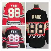Free Shipping Authentic American Ice Hockey Jerseys Chicago Blackhawks #88 Patrick Kane Jersey Embroidery Logos Mix Order M-XXXL