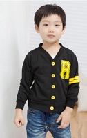 [CA] Children outerwear cardigan children t shirts boy tops new 2014 children outerwear autumn -summer kids clothing