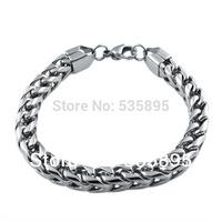 Wholesale bracelets for men fashion stainless steel link chain bracelet  jewelry