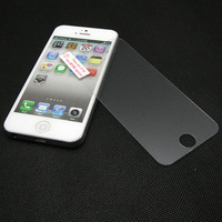 2.75D Border Round Angle Premium Tempered Glass 0.3MM 9H Anti Shatter Film Screen Protector For Apple iphone 5S 5G 5C Retail Box