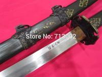 Metal Sheath Japanese Folded Steel Samurai Sword Sowar Military Katana