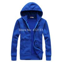 2014 Autumn Fashion Man hoody autumn dress coat cardigan hooded jacket  casual sweatshirts cotton hoodies men 5 colors
