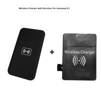 Qi Wireless Charger Transmitter Pad charging Mat  + Qi Wireless Charger Receiver for Samsung Galaxy S3 i9300