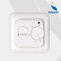 2014 Newest Hot Sale NTC Sensor LED Series of Mechanical Room Hotel Thermostat Switch SP-6000 High Quality