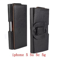 Leather Flip Wallet Belt Buckle Case Cover For iphone 5 5s 5c 5g mobile phone Universal holster PU leather Case Cover FA002