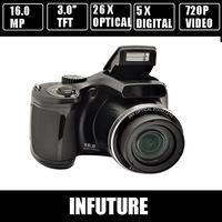 HD 16.0 mega pixels CCD SLR digital camera with 3.0'' TFT display 26 x optical zoom  free shipping  DC-G26
