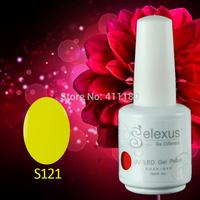 Free Shipping 6Pcs/lot (You choose 6colors)15ml Gelexus Soak Off UV Led Nail Gel Polish 343 Fashion Colors