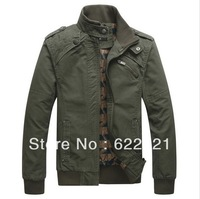 2014 New Arrival Men's Fashion Casual Winter Jacket Cotton Coat outwear Free Shipping
