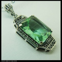 Free shipping, wholesale and retail of Victorian GuYinHai sapphire pendant