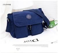 KP-B047 Newly 2014 hot fashion delana lady shoulder bag nylon women messenger bag FREE SHIPPING