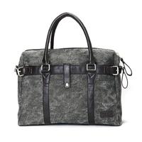 Male canvas laptop bag 2014 one shoulder handbag laptop bag casual computer bag handbag