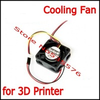 3D Printer Reprap Cooling Fan 40*40*15mm 12V 0.11A With 2 Pin Dupont Wire