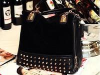 Free shipping Europe and America style women polish rivet bag, female multiple shoulder handbags, fashion ladies' bag # SM-13