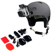 wholesale Helmet Front Mount for Gopro Hero 3 2 1 sports action camera Gopro Accessories GP19 free shipping