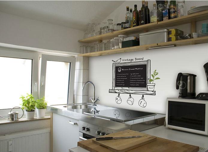 Acheter vinyle ardoise stickers muraux - Papier vinyl cuisine ...