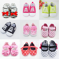 1pair Soft-Sold Baby Shoes Kids Sneakers First Walkers Infantil Kids Sapatos 2013 New Children Shoes -- ZYS91 Free Shipping