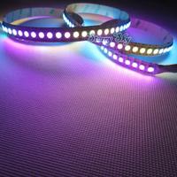 NP Magic Dream Color 5050 RGB LED Strip 1M 144 Leds  WS2812B WS2811 Built  Individual Addressable Flexible non-waterproof 5V