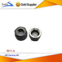 Free shipping 3 pcs standard quality er11 A nut for er11 CNC Repair Parts  used in  CNC milling lathe tool and spindle motor