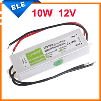 Waterproof DC 12V 10W 0.83A Electronic LED Strip Driver Power Supply Adapter Transformer AC 110V-240V