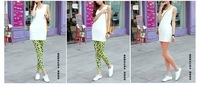 The Korean fashion leggings women pencil bow  The milk silk Leggings wholesale Slim thin Free shipping 0825