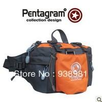 Pentagram High quality Waist bags/ outdoor waist pack cross-body double-shoulder/ Messenger sport bag 927