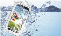 Redpepper  Waterproof Case for Samsung Galaxy S3 i9300 Dust Snow Proof Cases with Retail Package 10 Colors Fully Tested 10pc