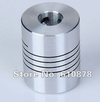 Free Ship,Aluminium CNC Stepper Motor Flexible Shaft Coupler,3x6.35 4x6.35 5x6.35 6x6.35 6.35x6.35 6.35x8 6.35x10mm 7pcs/lot