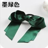 H025  Free shipping, New Sweet Fabric Bow knot girls woman hairbands Hair rope