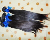 """New Fashion 100% non-processed Virgin remy Mongolian straight boutique hair weave 4 bundles 10""""-30"""""""