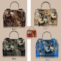 women leather handbags  handbags women bags printing bags women designer handbags high quality women handbag leopard handbag