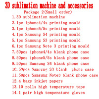 3D phone case printing machine,phone case mould and blank sublimaiton case free shipping by DHL