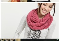 2014 New Winter Scarf Knitted Lady Lovely Corn wool Scarf Scarves Korean version with 5 Color  B890 Free Shipping