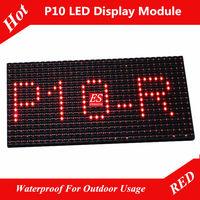 Evershine P10 Red Waterproof Outdoor LED Module