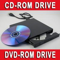 50pcs WHOLESALE - External USB 2.0 CD DVD Reader DVD ROM CD-ROM Optical Drive For All PC Netbook & Laptop